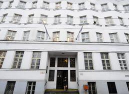 Na snímke budova Sociálnej poisťovne v Bratislave