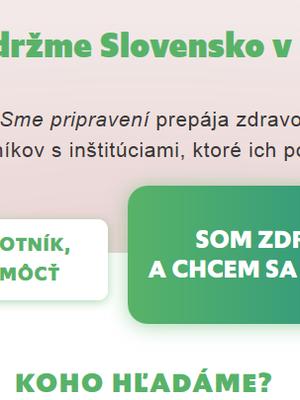 smepripraveni.sk: Databáza dobrovoľníkov z radov odborníkov