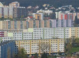 Na snímke bratislavské sídlisko Dlhé diely v Karlovej Vsi