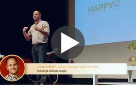 Happy Company: Pokora je srdcom Google