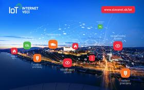 Spájame vaše svety cez internet vecí – v Slovanete